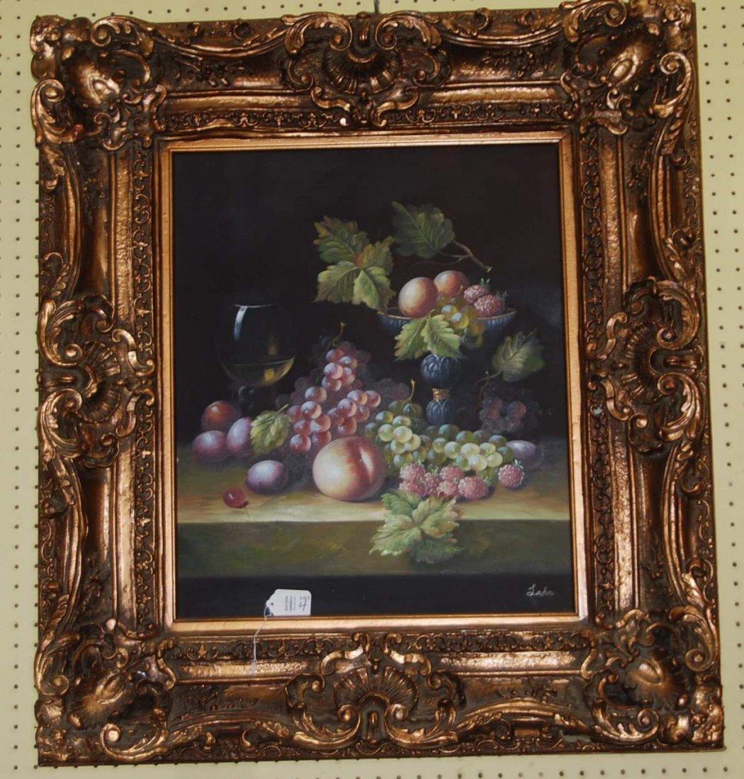 Framed Art Fruit