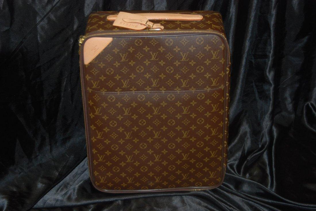 Louis Vuitton Brown Monogram PEGASE 55 15.7 x 21.7 x