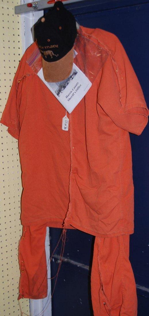 County Jail Jumpsuit, Torn