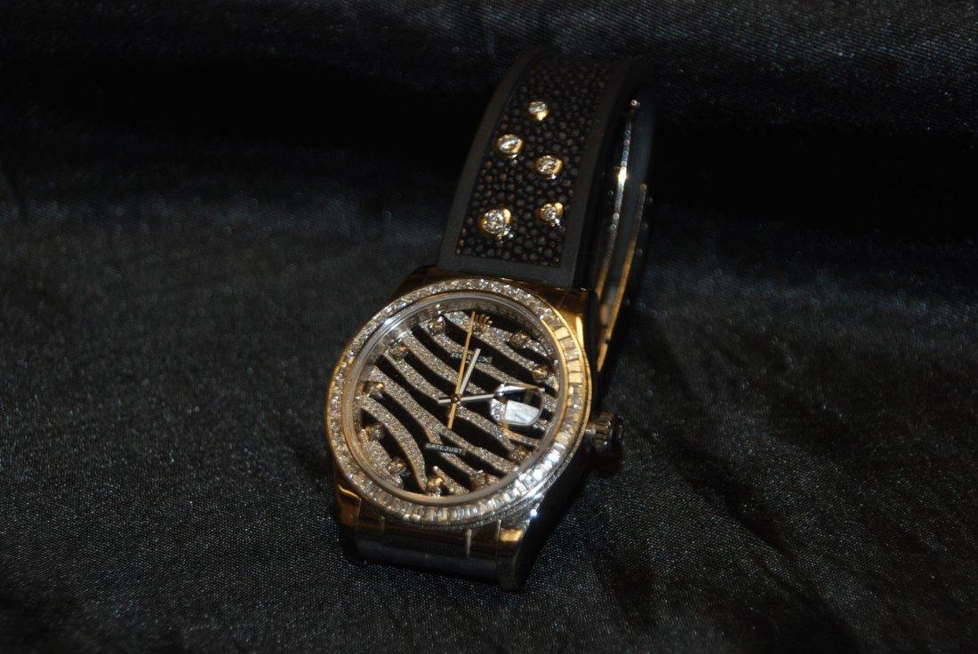 Rolex; Zebra DateJust Special Edition Serial # M516376