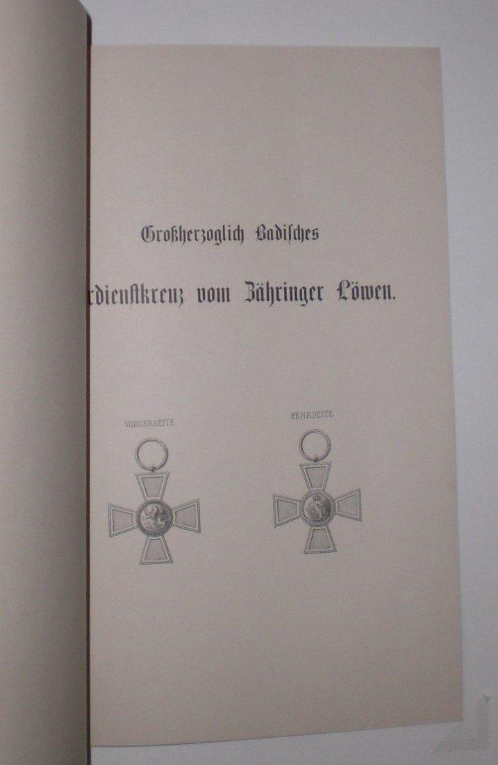1: Großherzogtum Baden, Großherzoglich Badisches Verdie