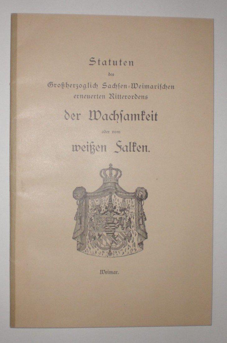5: Großherzogtum Sachsen-Weimar, Großherzoglich Sächsis