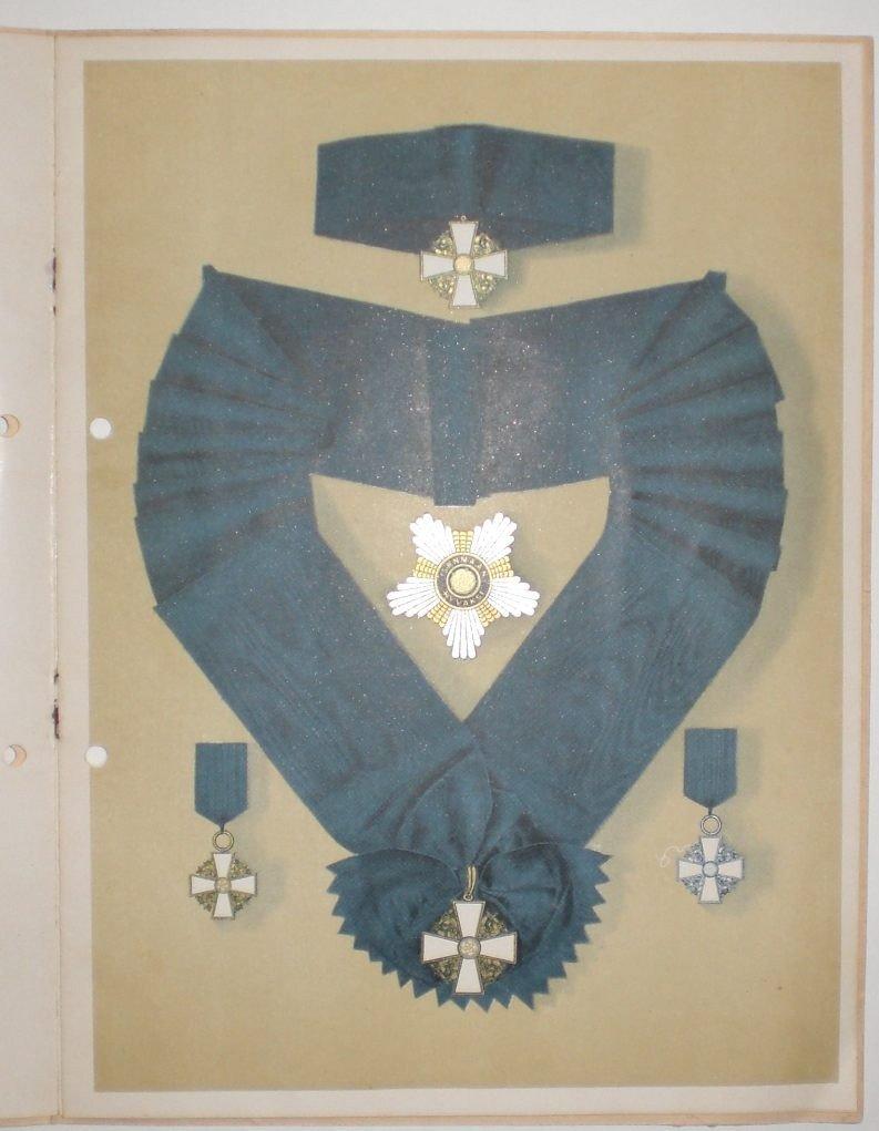 6: Finnland, Orden der Weißen Rose, Statuten. Gebundene