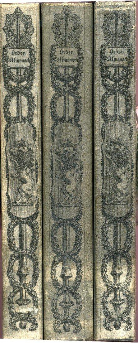 12: Gottschalck, Friedrich; Almanach der Ritter-Orden.