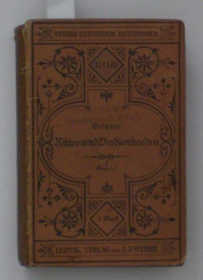 13: Gritzner, Maximilian; Handbuch der Ritter- und Verd