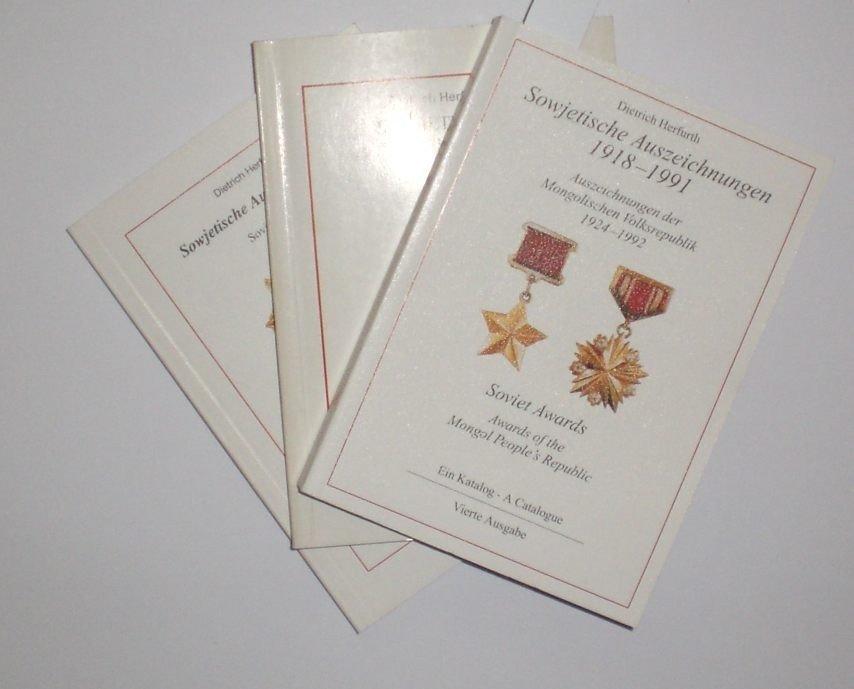 16: Herfurth, Dietrich; Sowjetische Auszeichnungen 1918