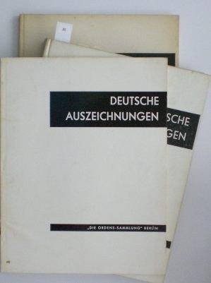 20: Dr. Klietmann, K.-G.; Deutsche Auszeichnungen Band
