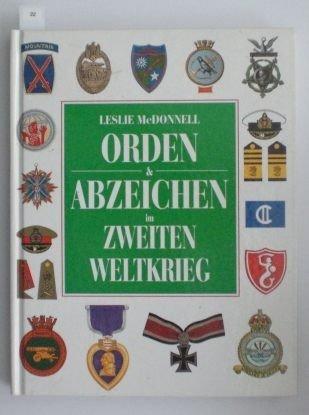 22: McDonnell, Leslie; Orden & Abzeichen im Zweiten Wel