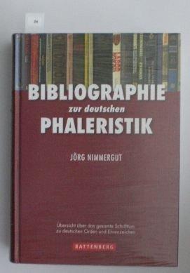 24: Nimmergut, Jörg; Bibliographie zur deutschen Phaler