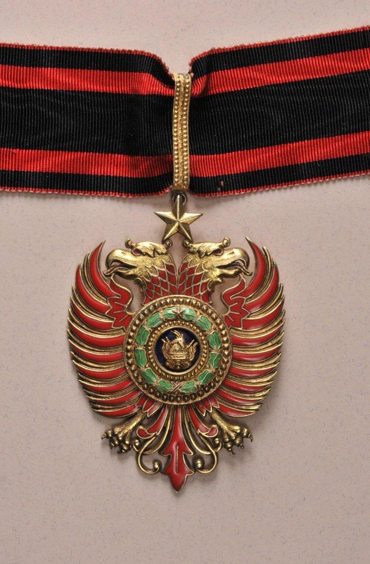 8: Skanderbeg Orden  1. Modell (1925-1939)  Kommandeur