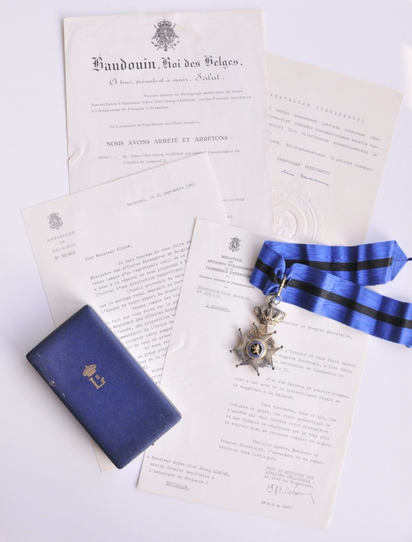 13: Orden Leopold II.  3. Modell (seit 1951)  Komturkre