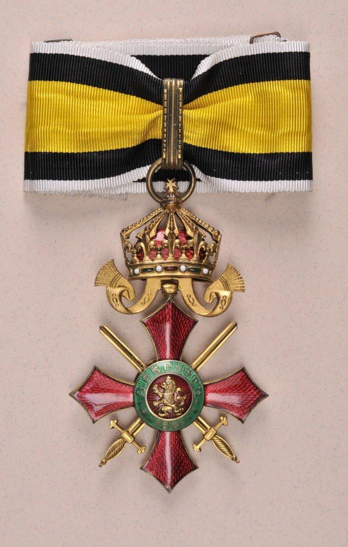 31: Militär-Verdienstorden  2. Klasse.
