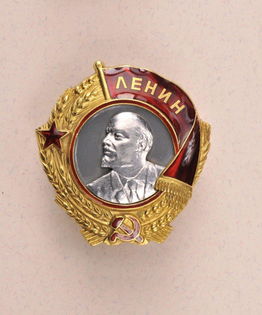 872: Lenin Orden  4. Modell  2. Typ.
