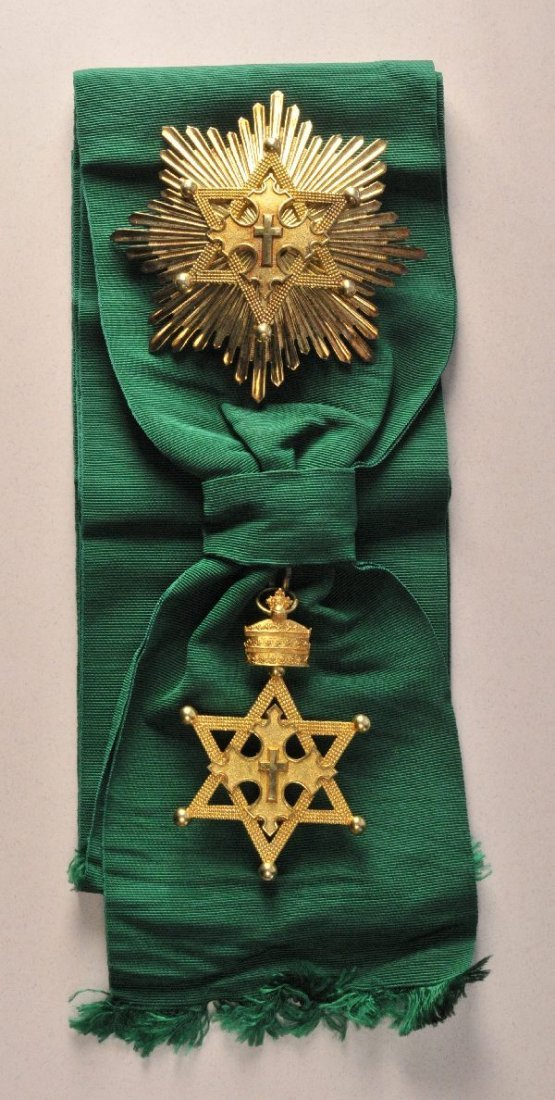 4: Ethiopia - Order of the Seal of King Salomon 2. mode