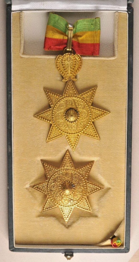 5: Ethiopia - Order of the Star of Ethiopia 4. model (t
