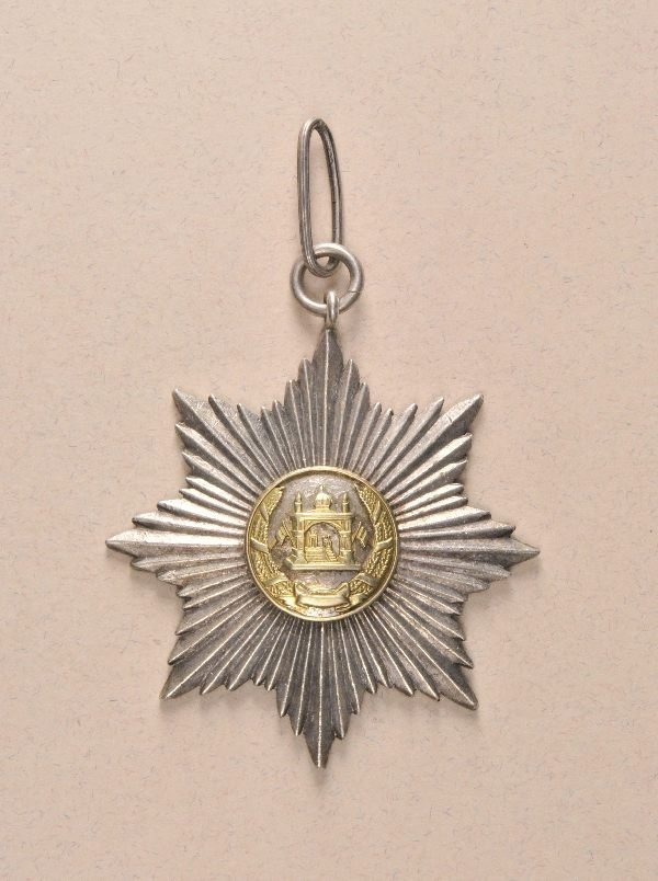 8: Afghanistan - Order of the Star (Nishan-e Ustur) 5.