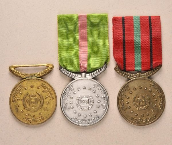 21: Afghanistan - Reshtin-Medal (Loyalty Medal) in gold