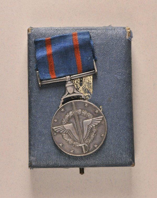 Egypt - Military Merit Medal, in box.