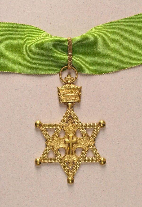 Ethiopia - Order of the Seal of King Salomon, 2. model,