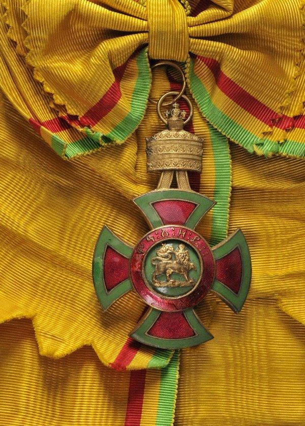 Ethiopia - Order of Emperor Menelik II., Grandcross.