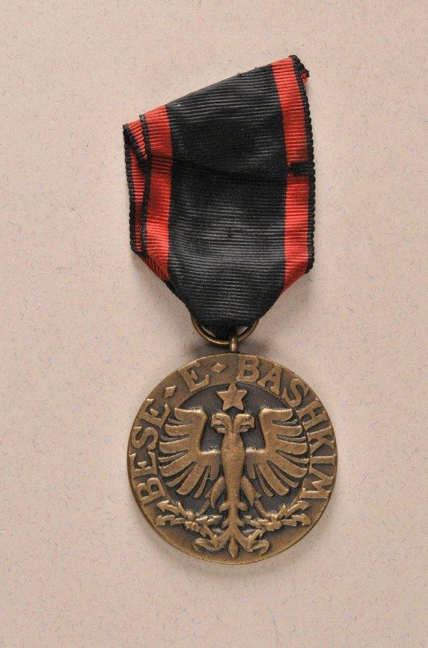 Albania - Black Eagle Order, Bronce Medal.