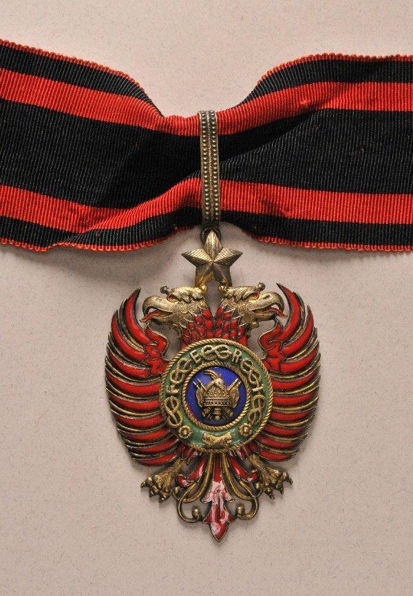 Albania - Scanderbeb Order, 2. model (1940-1944), comma