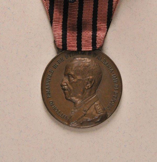 Albania - Italy: Commemorative Medal on the Albanian-Ca