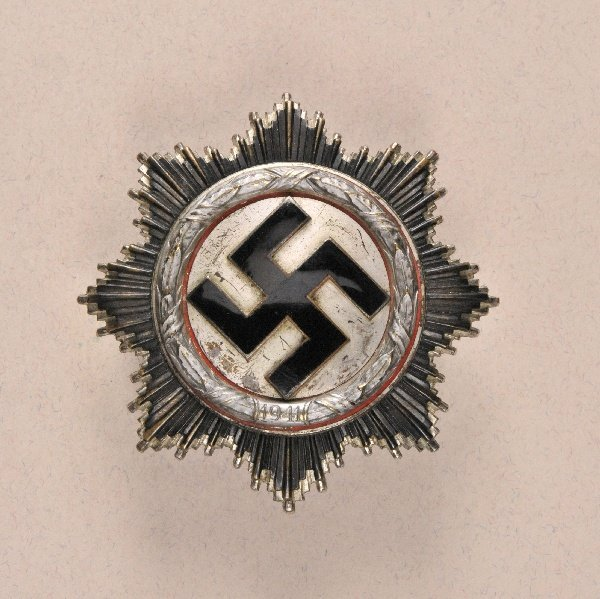 Germany (1933-1945) - German Cross, in Silver.