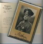 Autographs - von Mackensen, August.