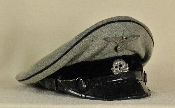 Army - SS Visor Cap for enlisted, Pioneer Troops.