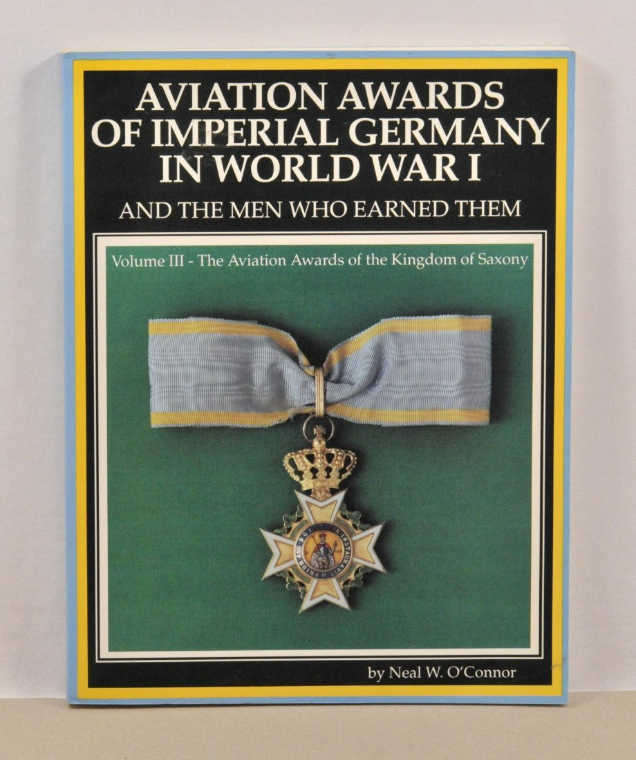 Literature - OConnor, Neal W.: Aviation Awards of