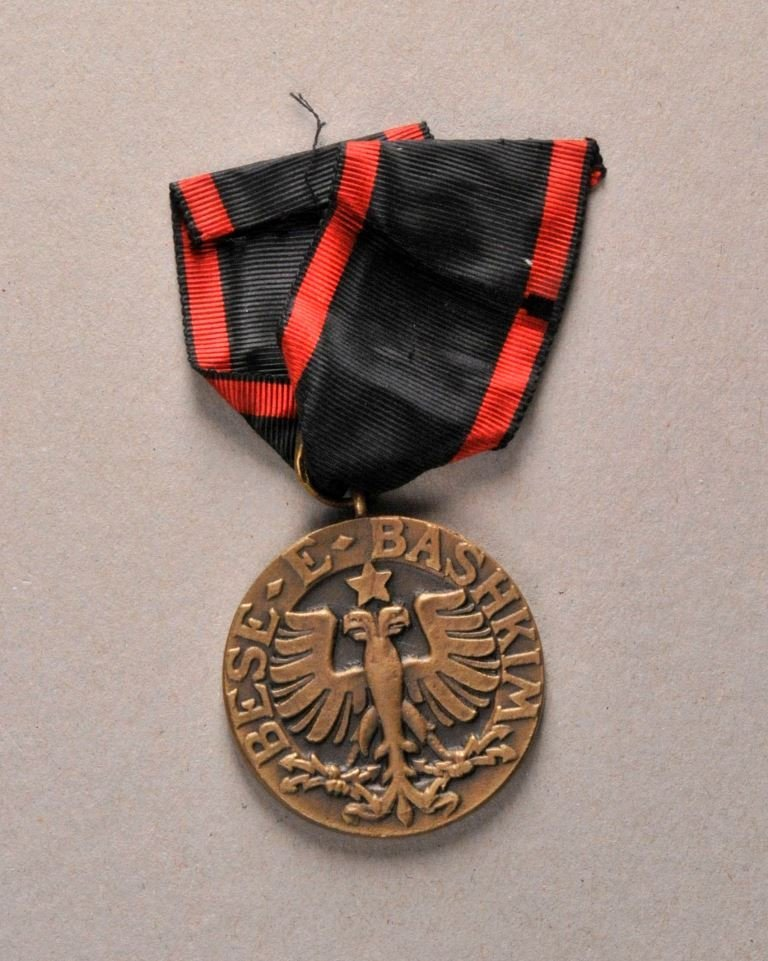 Albania - Order of the Black Eagle, Bronze Medal.