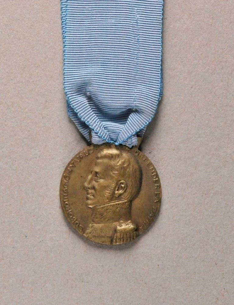 Argentina - Centenary Medal for the Andean War 1814.