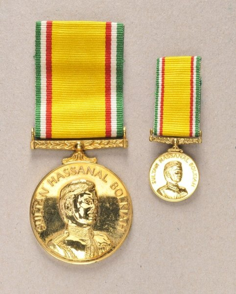 new entryBrunei Medal of independence, in case.