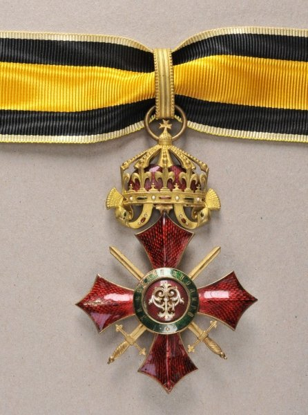 Bulgaria Military order of merit, 2nd class.