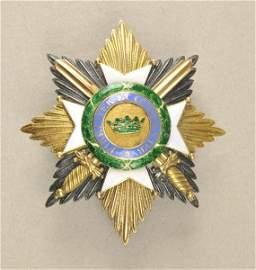 Saxonian Dutchy Ducal Sax-Ernestine House Order 2. mode