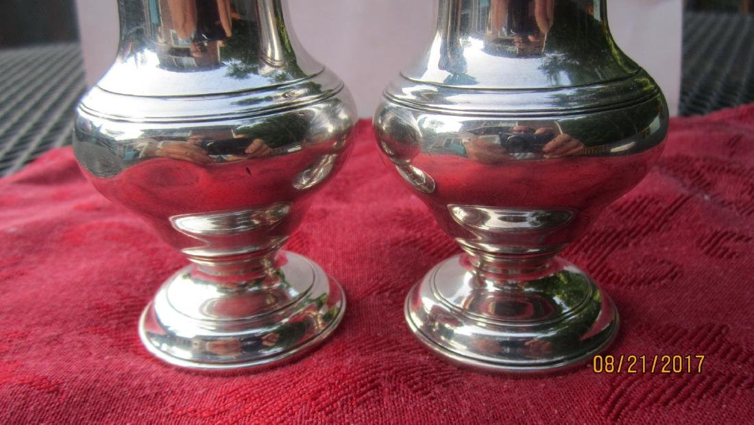 GREAT PAIR OF TIFFANY & CO. SALT & PEPPER SHAKERS - 4