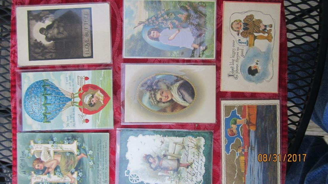GREAT LOT OF 37 MIXED POSTCARDS - MOST  GOOD  COND. - 2