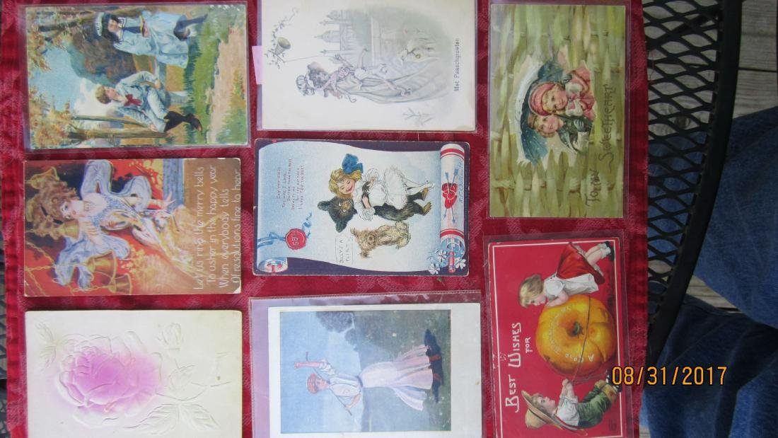 GREAT LOT OF 37 MIXED POSTCARDS - MOST  GOOD  COND. - 3