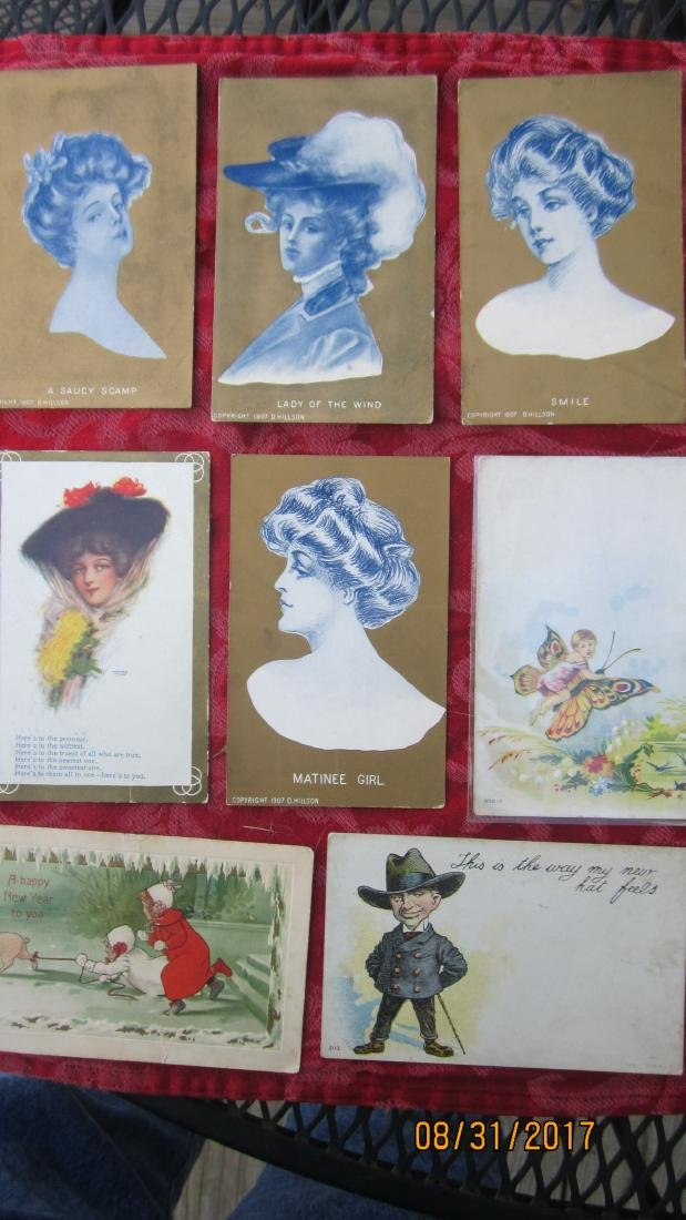 GREAT LOT OF 37 MIXED POSTCARDS - MOST  GOOD  COND. - 4