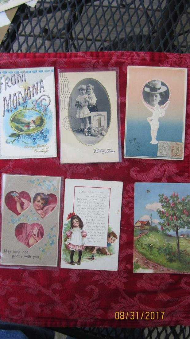 GREAT LOT OF 37 MIXED POSTCARDS - MOST  GOOD  COND. - 5