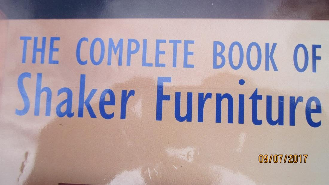 400 PAGE BOOK - THE COMPLETE BOOK OF SHAKER FURNITURE