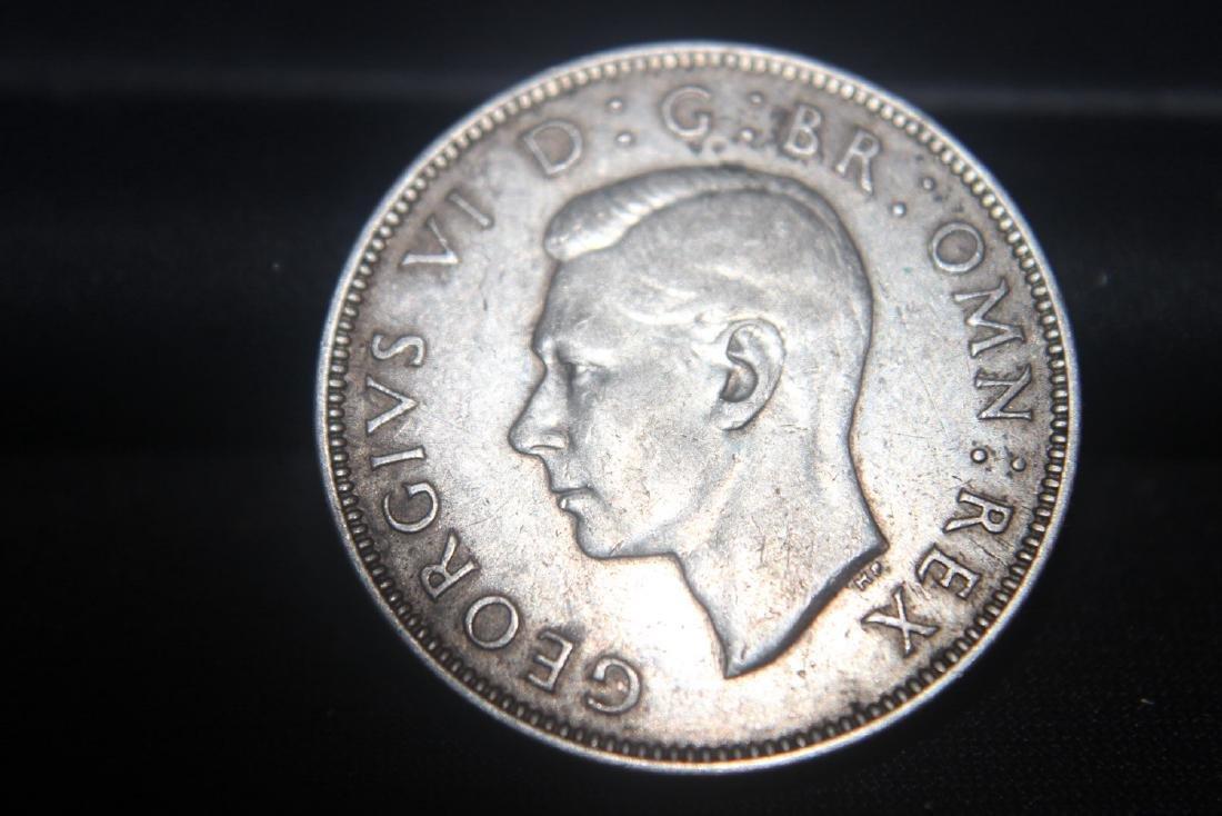 1939 GEORGIUS 6 - 2 SHILLING SILVER