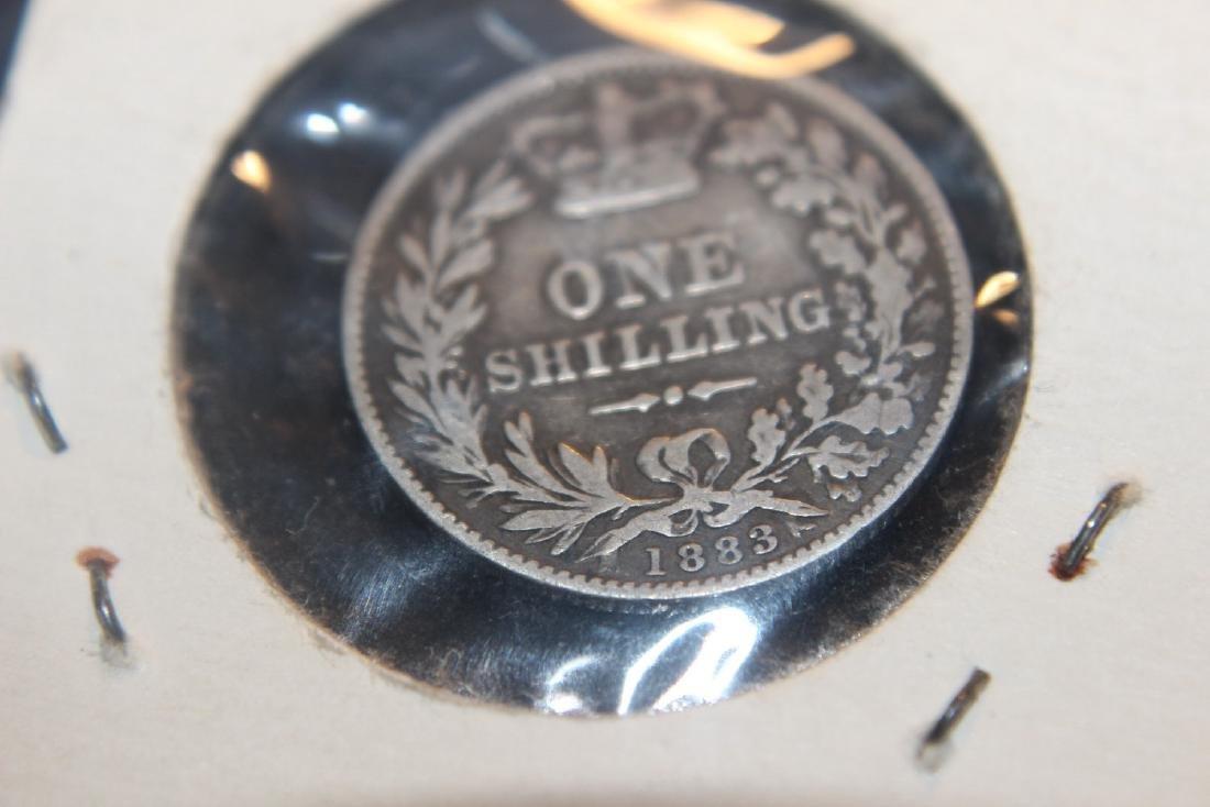 1883 VICTORIA DELGRATIA 1 SHILLING