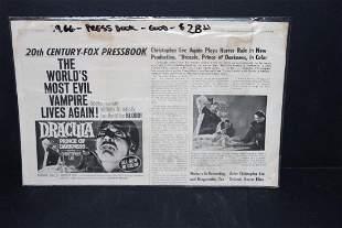 1966 PRESS BOOK 20TH CENTURY FOX GOOD COND
