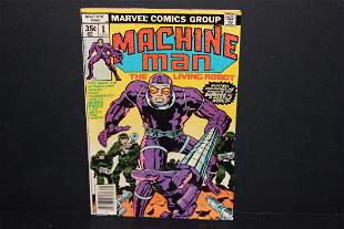 MACHINE MAN 2 3 4 5 1978 NM