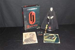 CHRISTOPHER LEE 12 FIGURE WITH BOX HAMMER