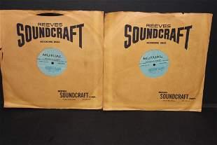 RARE 2 ORIG 33 1/3 ALBUMS - 1956 CONVERSATION WITH