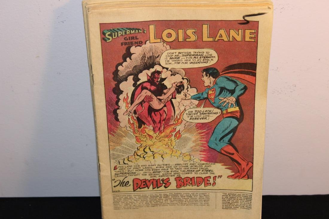 Superman and Lois Lane seven issues no covers 1970 #103