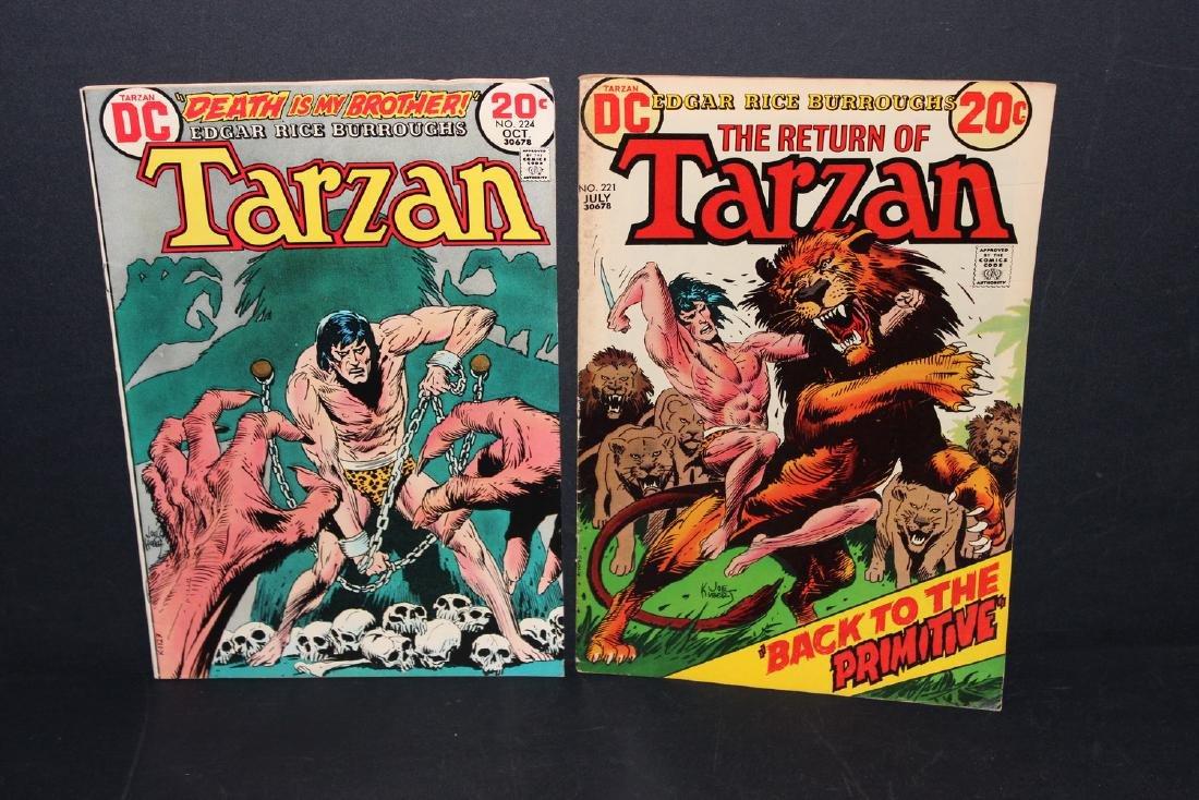 1973 TARZAN #221, 224 GOOD